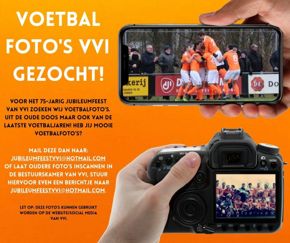 Voetbalfoto's VVI gezocht!