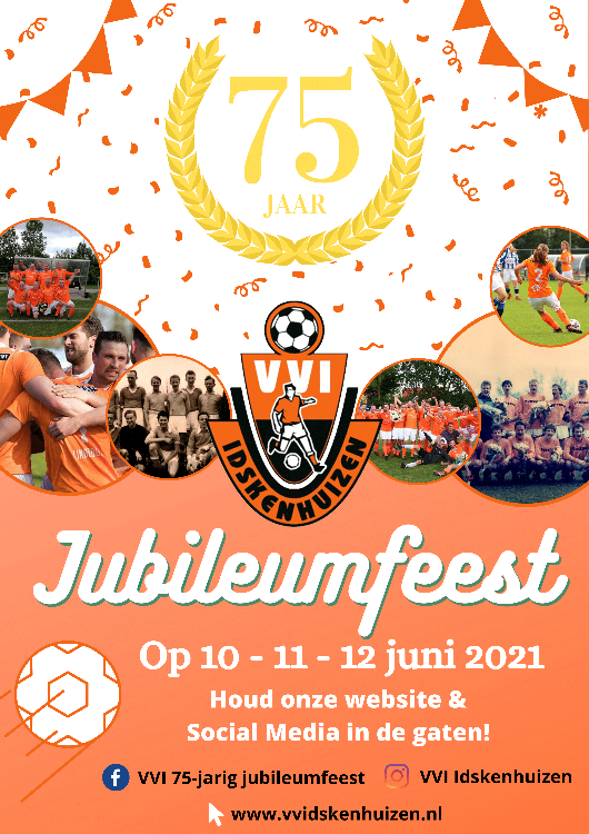 Jubileumfeest VVI - 75 jaar